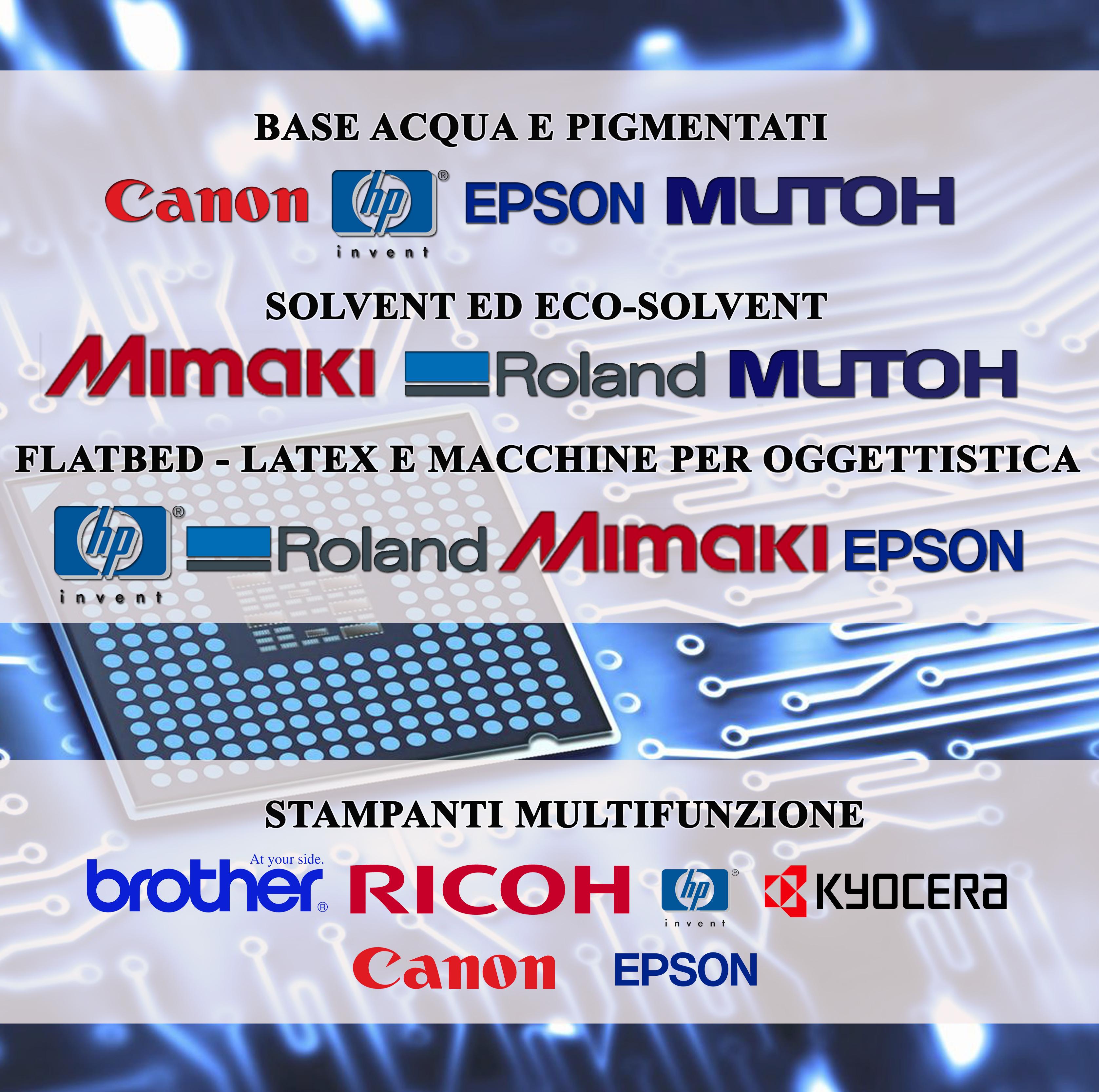 HP – EPSON – CANON